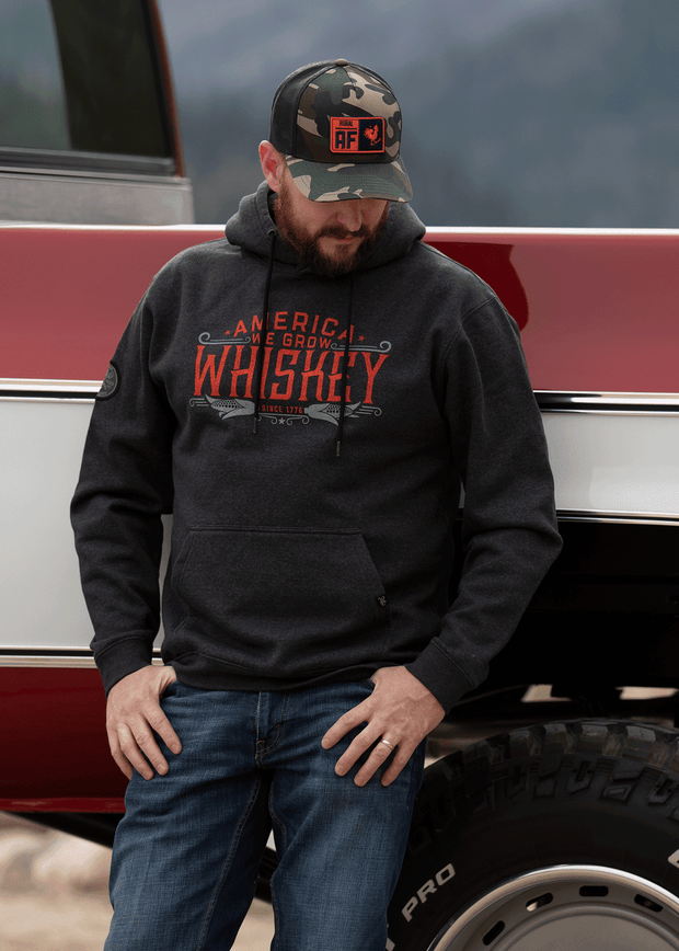 America We Grow Whiskey Pullover