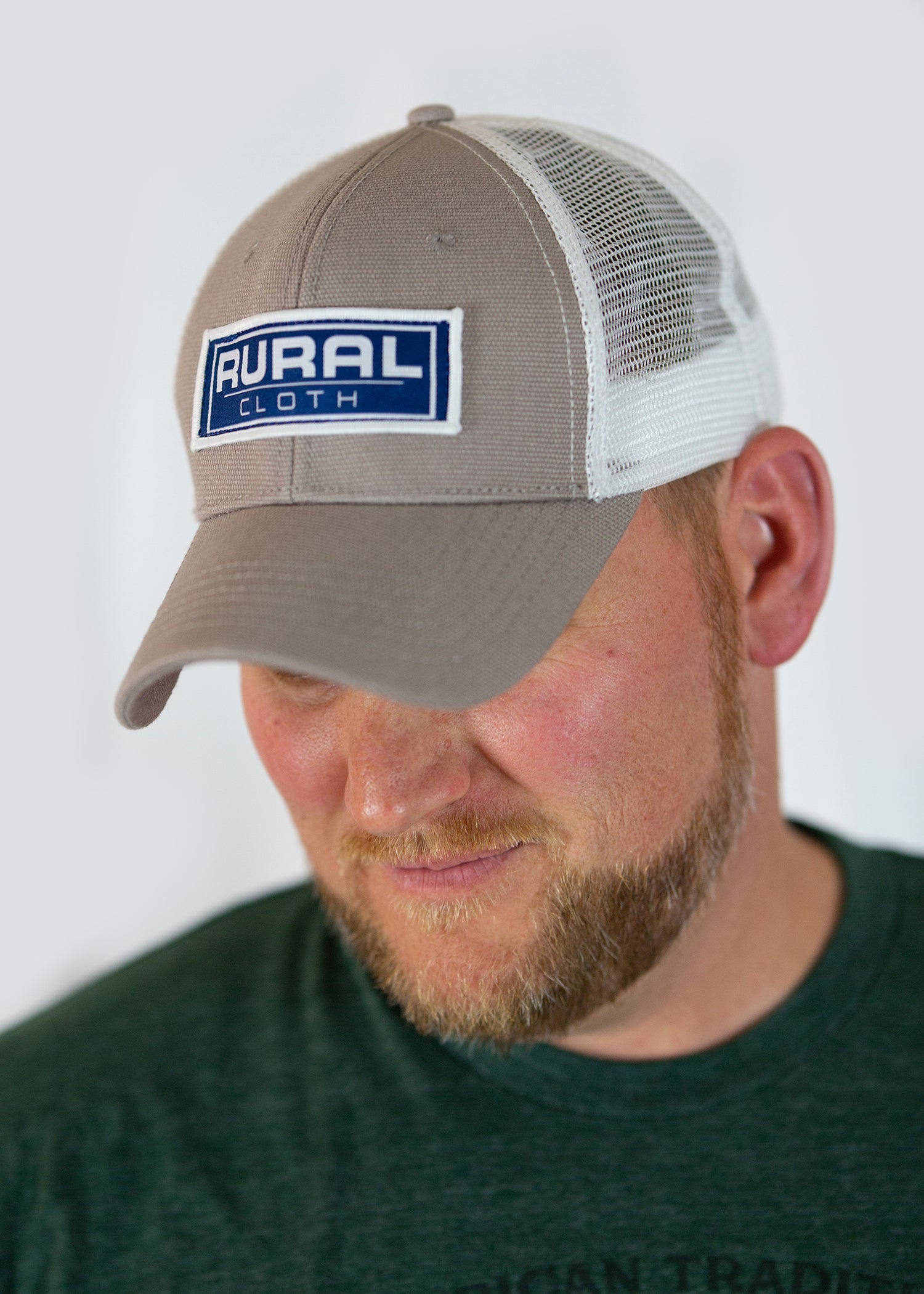 Brandmark Hat - Grey/White