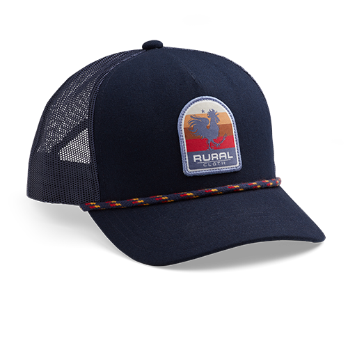 Rooster Sunrise - Navy - Hat