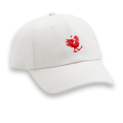 Rooster Icon - Women's Natural White Hat