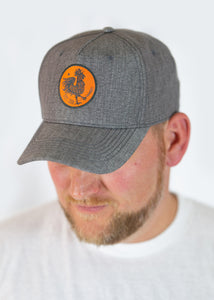 Rooster Circle - Grey Hat