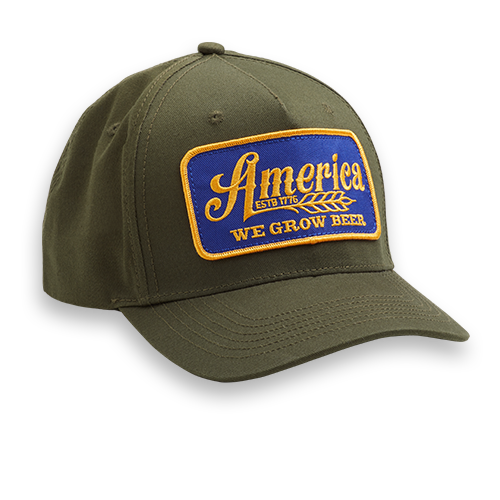 Olive We Grow Beer Hat