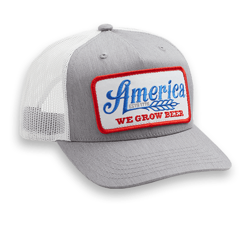 We Grow Beer Hat - Gray