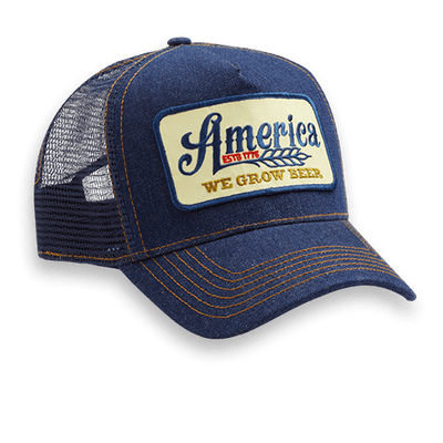 We Grow Beer Retro Trucker Hat - Banquet