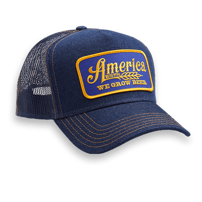 We Grow Beer Trucker Retro Hat - Classic
