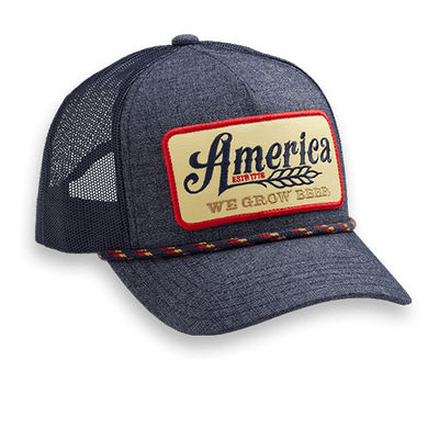 We Grow Beer - Retro & Navy - Hat
