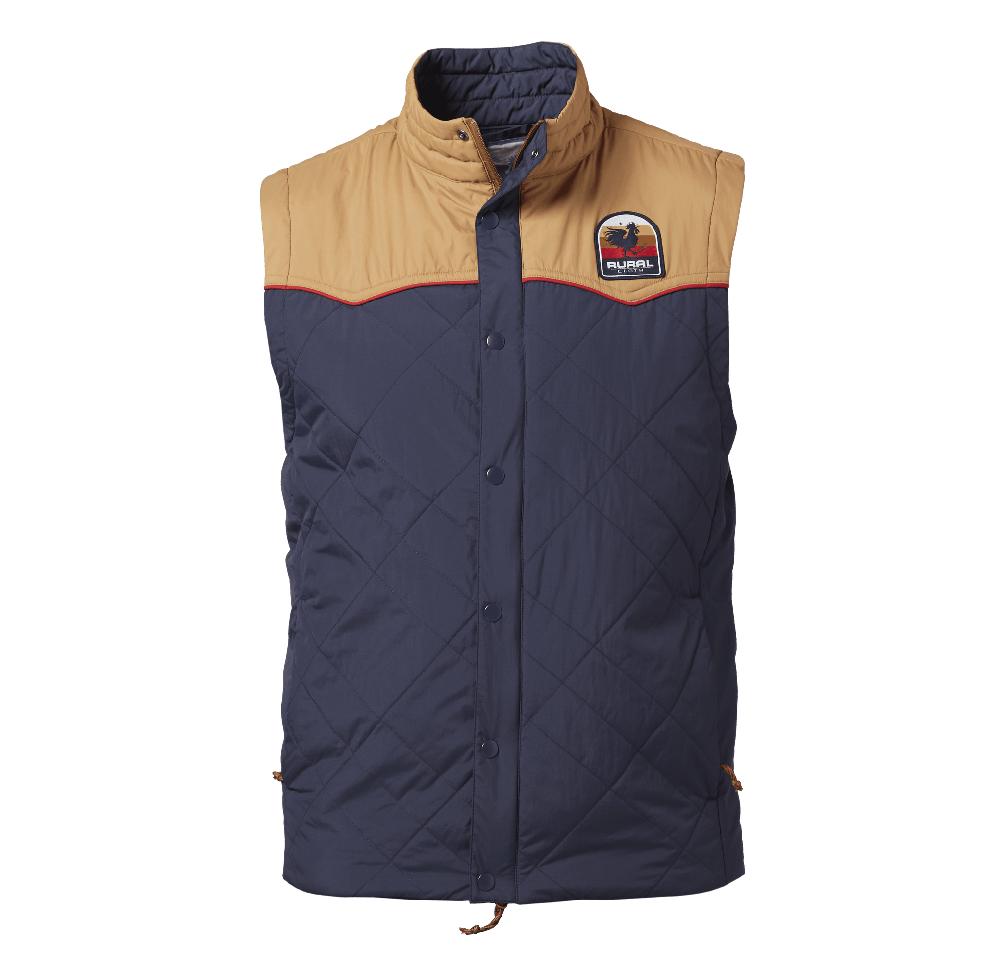 Sunrise Vest - Navy