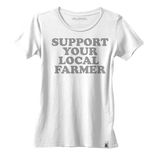 Support Your Local Farmer Women's Tee