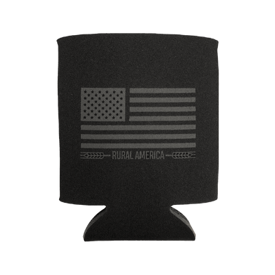 Black Out Flag Can Sleeve
