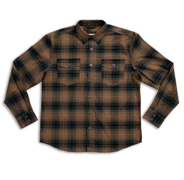 Foreman Stretch Flannel | Brass & Pine