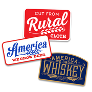 We Grow Beer Hat + Clay Rancher Button-Up Shirt + Decal 3-Pack Discounted Bundle