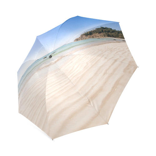 Sand and beach foldable umbrella