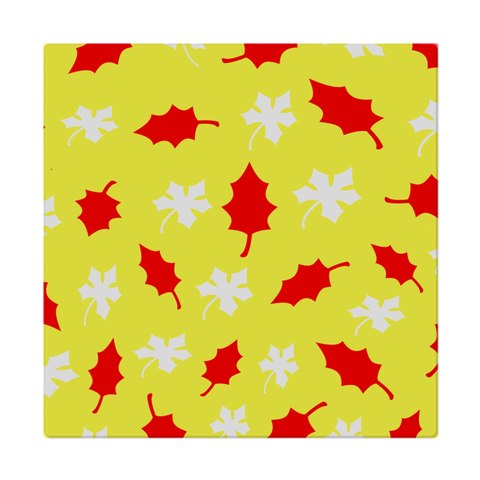 Yellow leaf cloth napkins