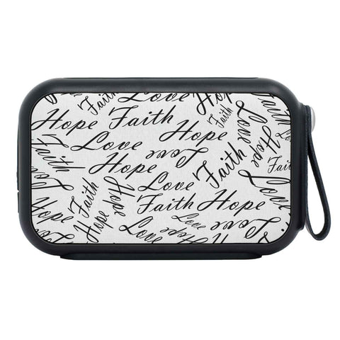 Faith Love Hope Bluetooth Speaker