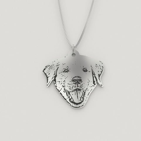 Pet Photo Pendant Necklace