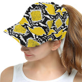 Yellow and Black Cap