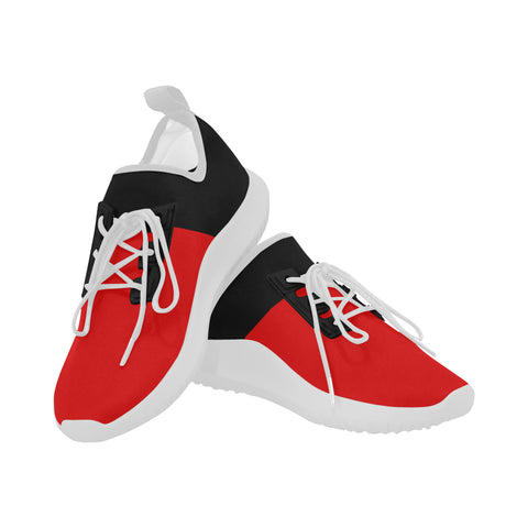 Black and Red Women's Running Shoes