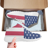 American flag basketball training shoes