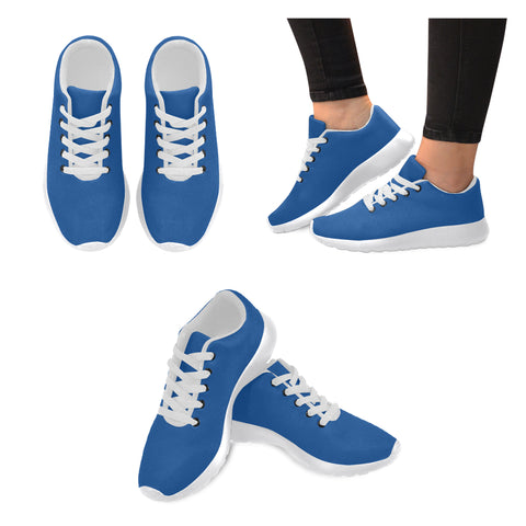 Blue women sneakers