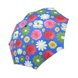 Custom made floral automatic foldable umbrella