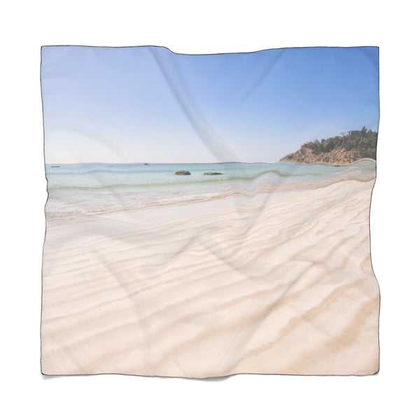 Sand and beach poly scarf