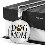 Dog mom, gifts for mom, dog lover, gold necklace, silver necklace, gifts for dog lover