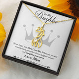 Giraffe Necklace For Daughter