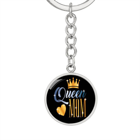 Queen Mom Keychain