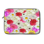 Flower laptop sleeve