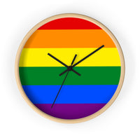LGBTQ wall clock - Family Gifts For Life