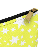 Yellow stars accessory pouch