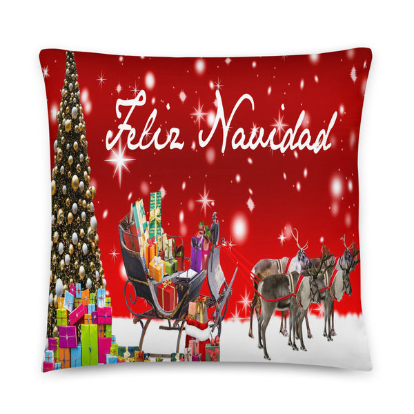 Feliz Navidad Decorative Accent Pillow