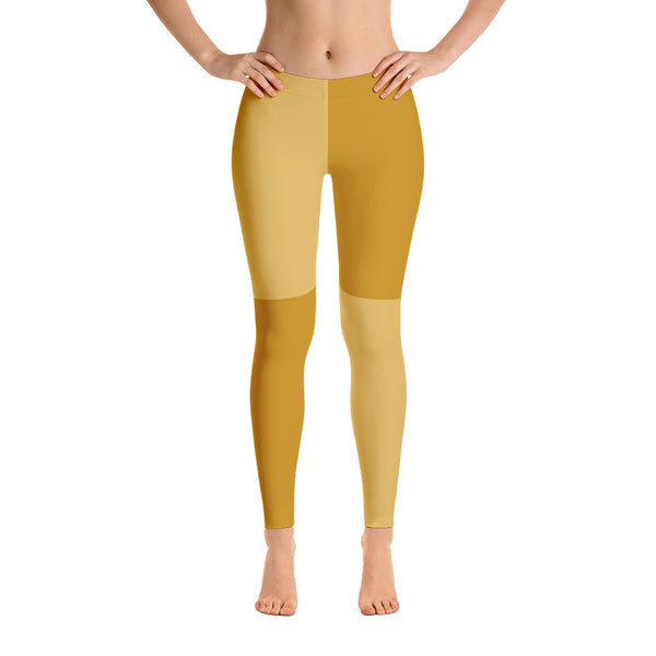 Stylish orange leggings for women
