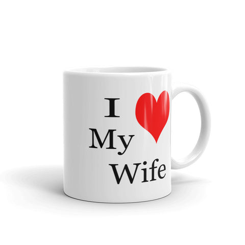 I love my wife coffee mug, gifts for husbands