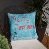 Christmas decorative throw pillow