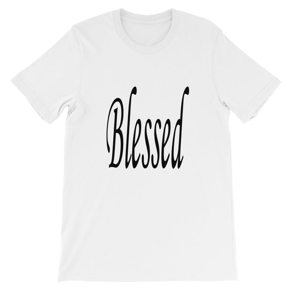 Blessed short-sleeve unisex t-shirt