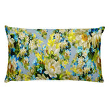 Floral basic accent throw pillow