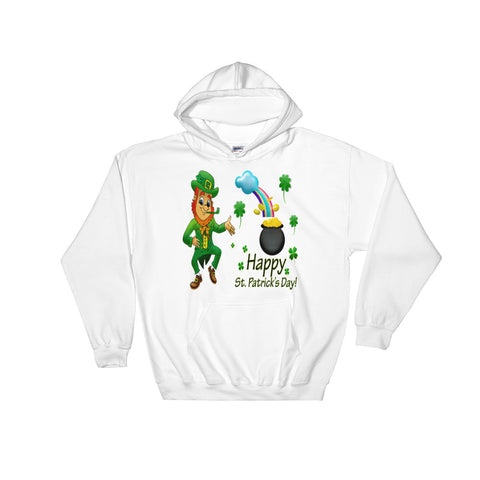 Happy St Patrick's Day Hooded Sweatshirt