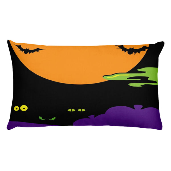 Halloween night pillow