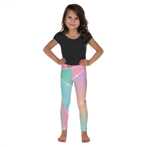 Pink kid's leggings