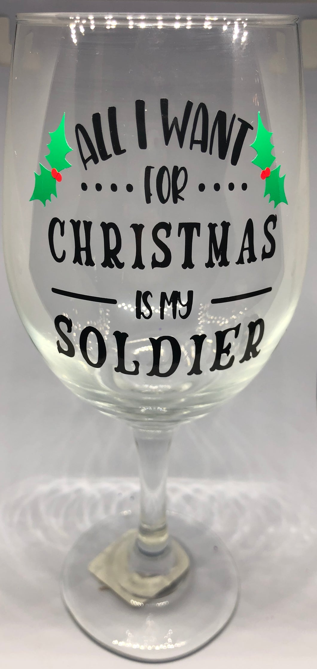 All I Want For Christmas Is My Soldier - Izzy Marie's