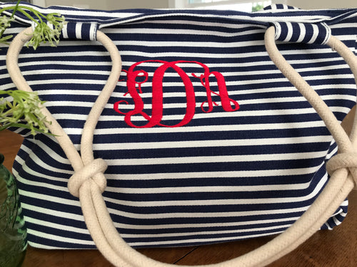 Charleston Stripe Purse