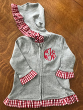 Gingham Girl Ruffle Jacket