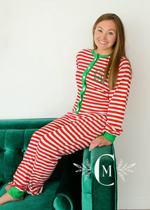 Adult One Piece Christmas Jammies