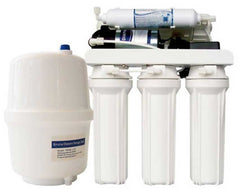 Reverse Osmosis Water Filter System 75GPD With Pump (280 Litres Per Day) 10 Inch
