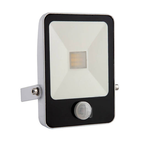EUROLUX 20W LED Floodlight With Motion Sensor & Remote, 4000K