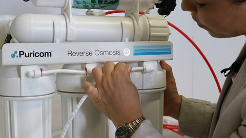 Attach main line Reverse Osmosis system