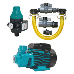 ECODEPOT 0.37kW Booster Pump, Pressure Controller & Tank Connector Kit