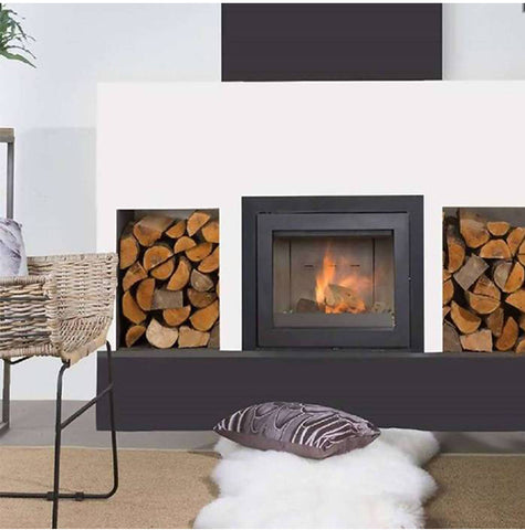 Wanders Smart 60 Insert with Frame Fireplace