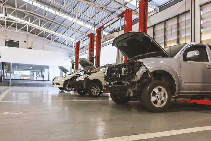 Contracting in an Auto Body Shop